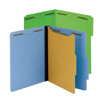 Folders with Fasteners